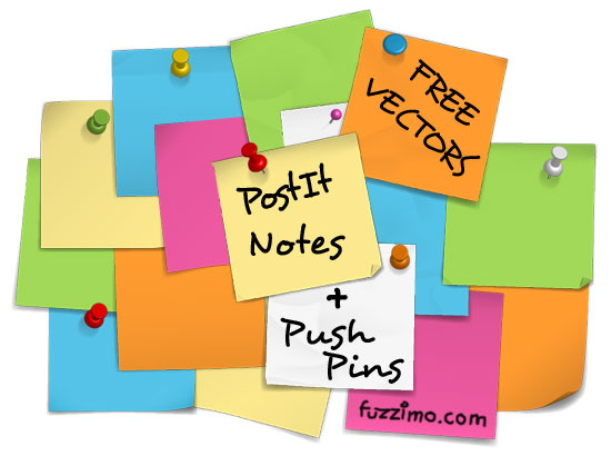 fzm-VectorPostItNotes+PushPins-01