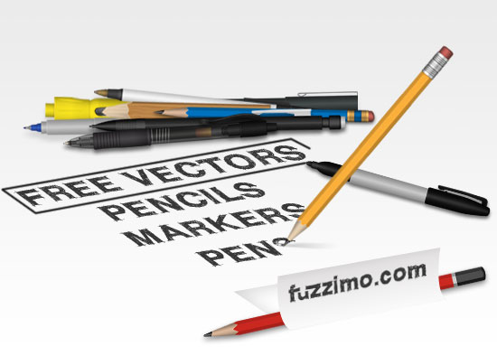 fzm-Vector-Pencils-Markers-Pens-01