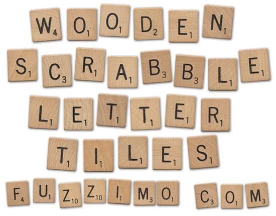 photo about Scrabble Letters Printable named Totally free Good day-Res Picket Scrabble Letter Tiles fuzzimo