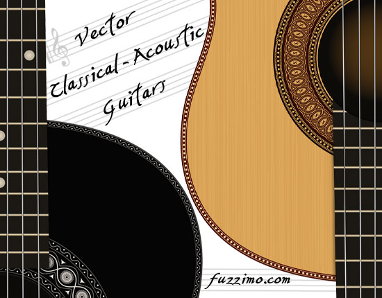 Acoustic guitar cdr vector free vector download (1,892 Free vector ...