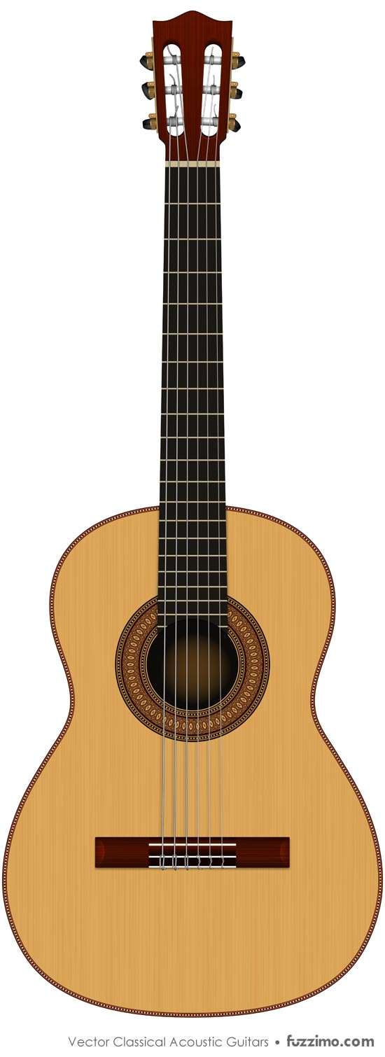 free vector classical acoustic guitars fuzzimo rh fuzzimo com acoustic guitar vector png acoustic guitar vector art
