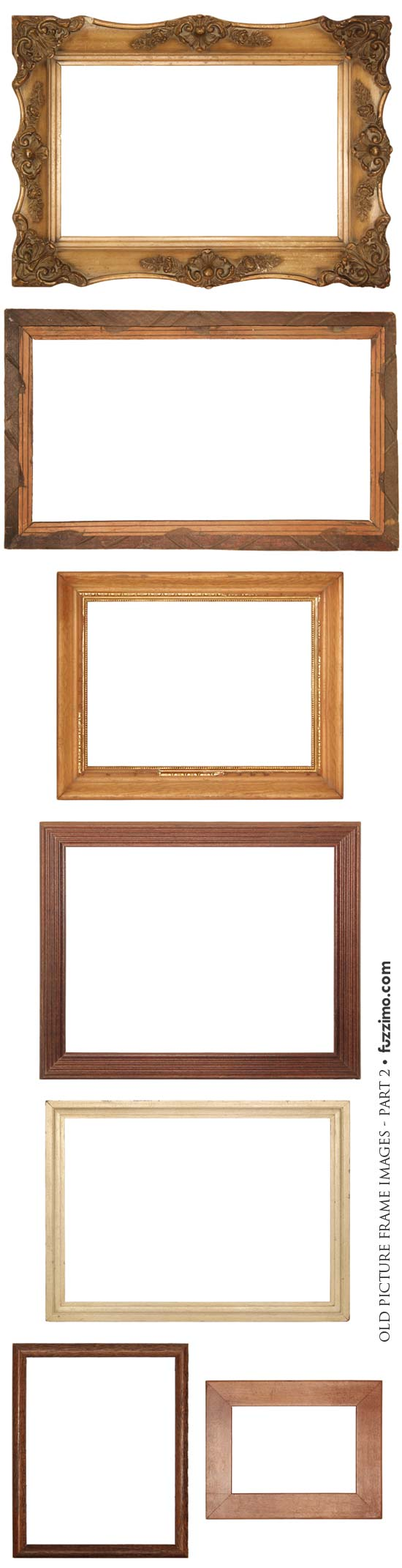 Free Hi-Res Old Picture Frame Images part 2 | fuzzimo
