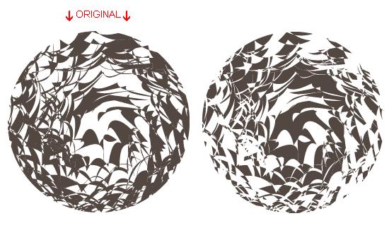 Illustrator Tutorial Mask or Crop Shapes/Paths 19