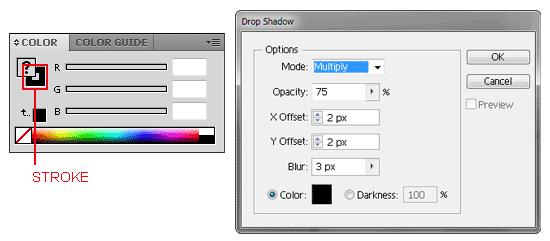 Illustrator Tutorial Mask or Crop Shapes/Paths 22