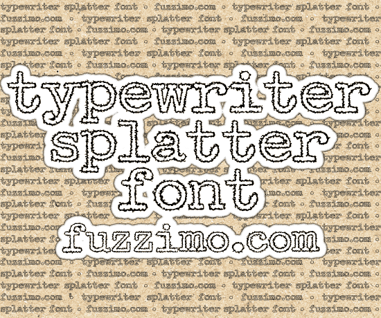 fzm-Typewriter-Splatter-Font-01