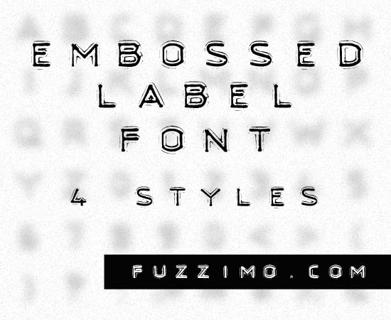 fzm-Embossed-Text-Label-Font-01